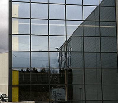 Murs-rideaux et menuiseries en aluminium